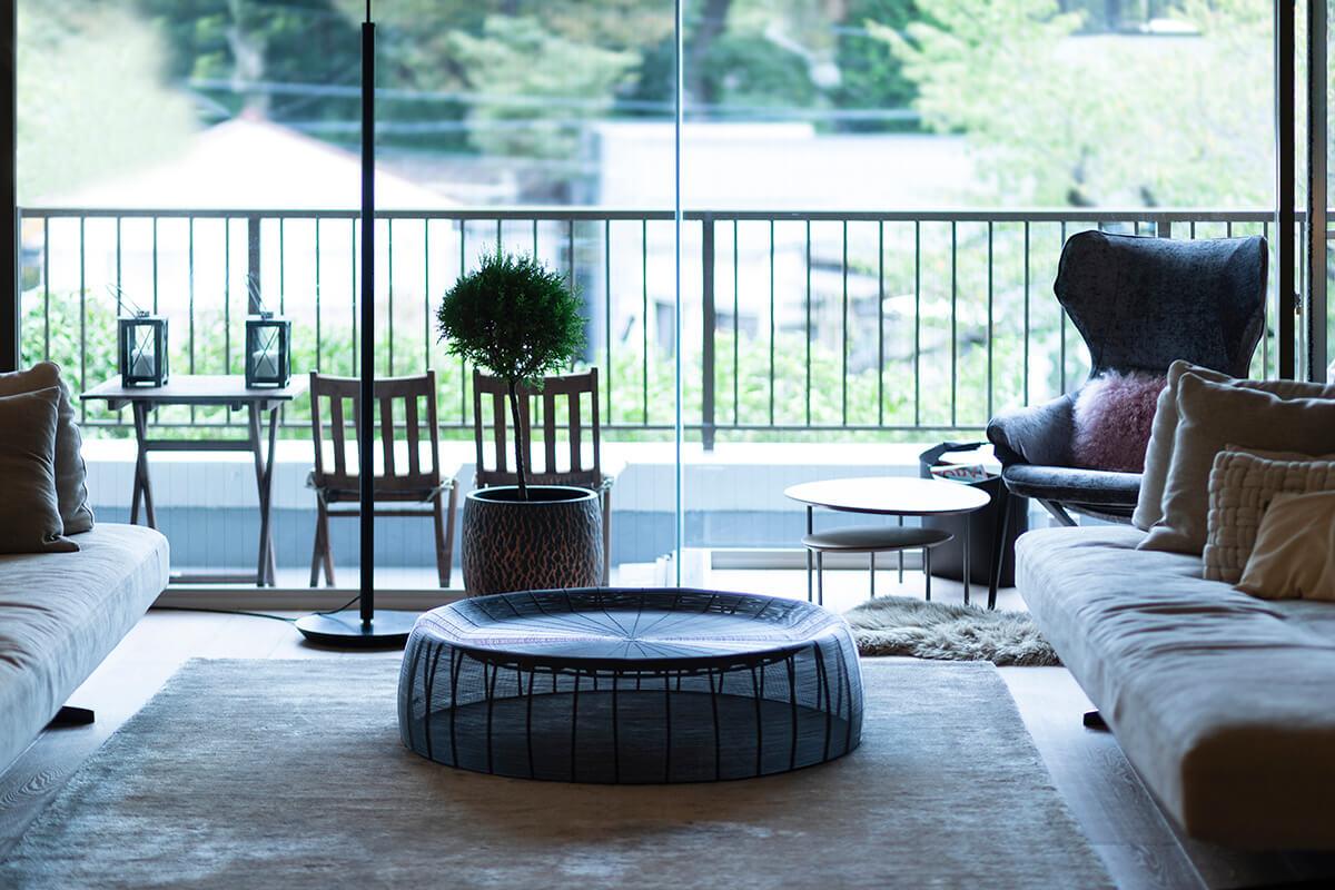 """目標は、海外で経験した""""豊かな住まい""""を東京に引き継ぐこと。約200平米のマンションとの出会いでかなえた理想の暮らしメインイメージ"""