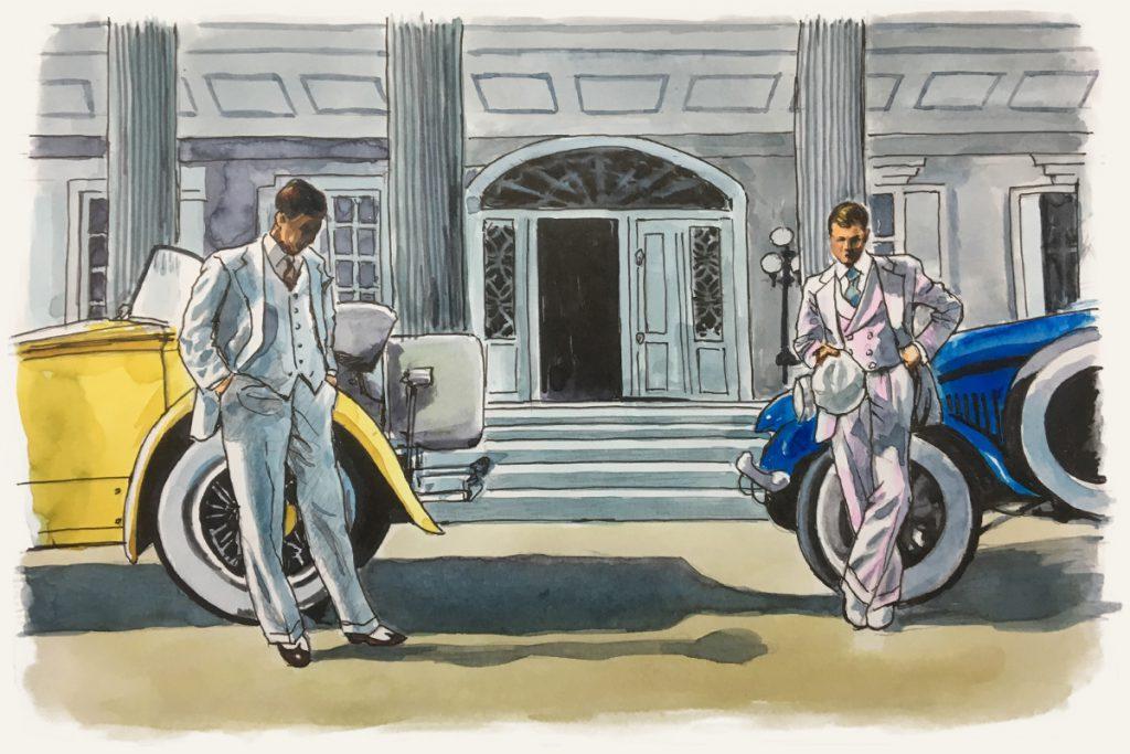 """『華麗なるギャツビー』——アメリカ""""狂騒の20年代""""を象徴する2つの大豪邸とアールデコ・スタイルのインテリア:イメージ"""