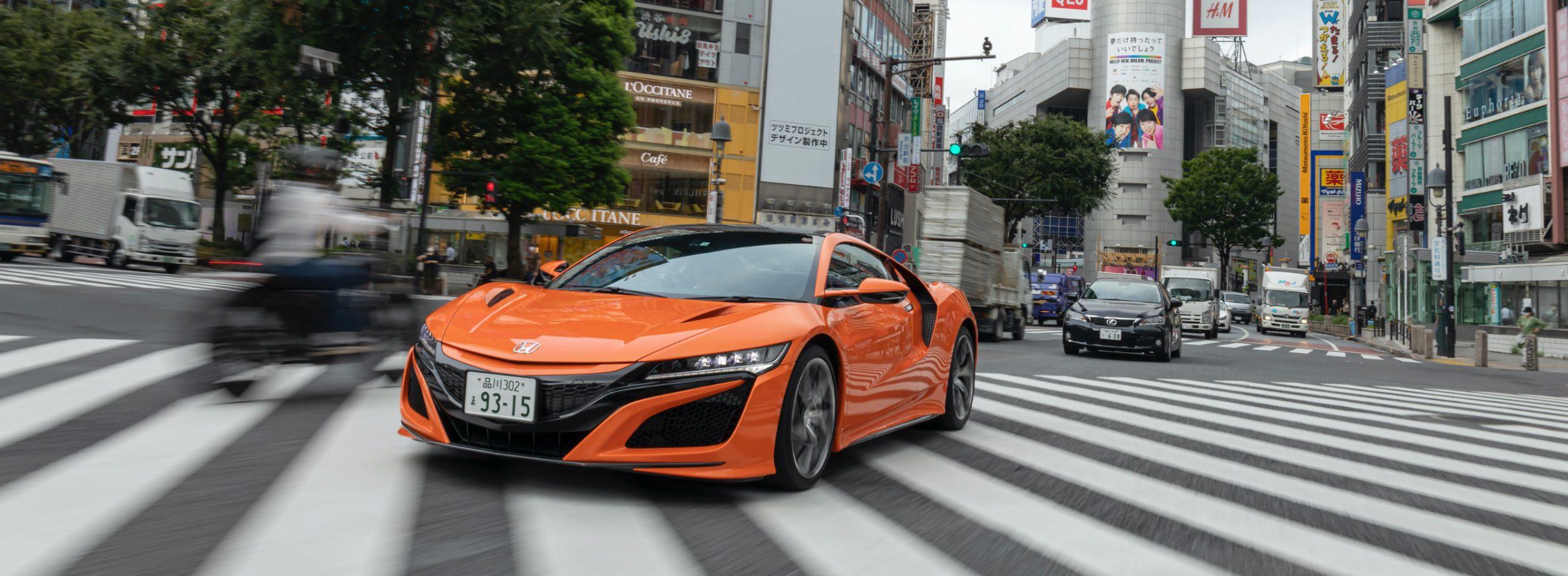 「ホンダ NSX」で進化する渋谷、変わらない渋谷を駆け抜ける