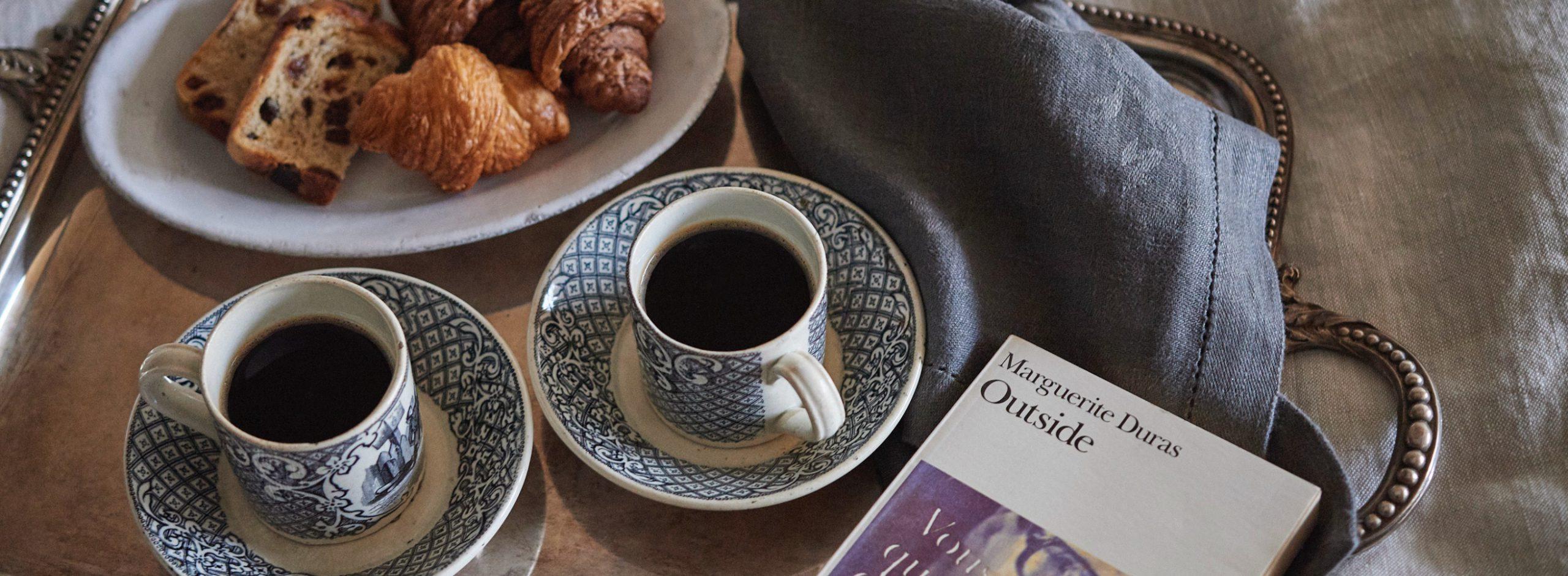 Grasse Matinée――日曜の朝、お気に入りの寝室で楽しむ優雅な朝食