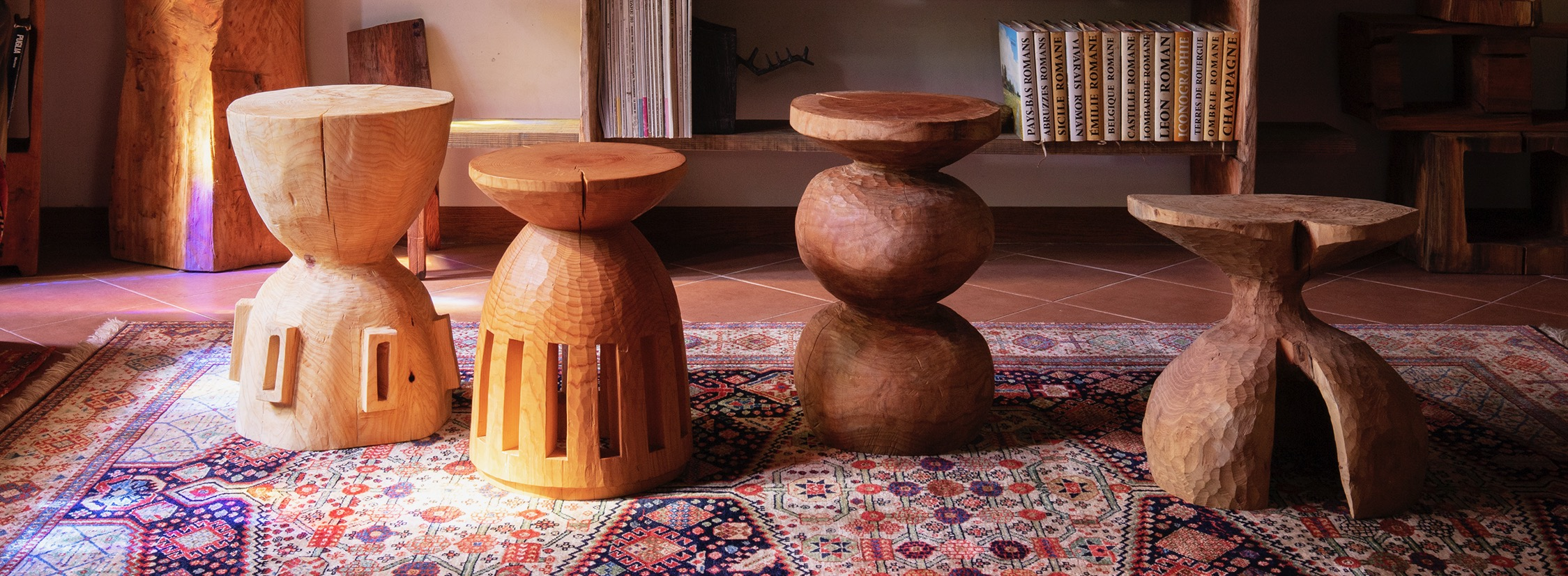 一緒に暮らしたい、かけがえのないものVol.1 「象鯨彫刻家具」