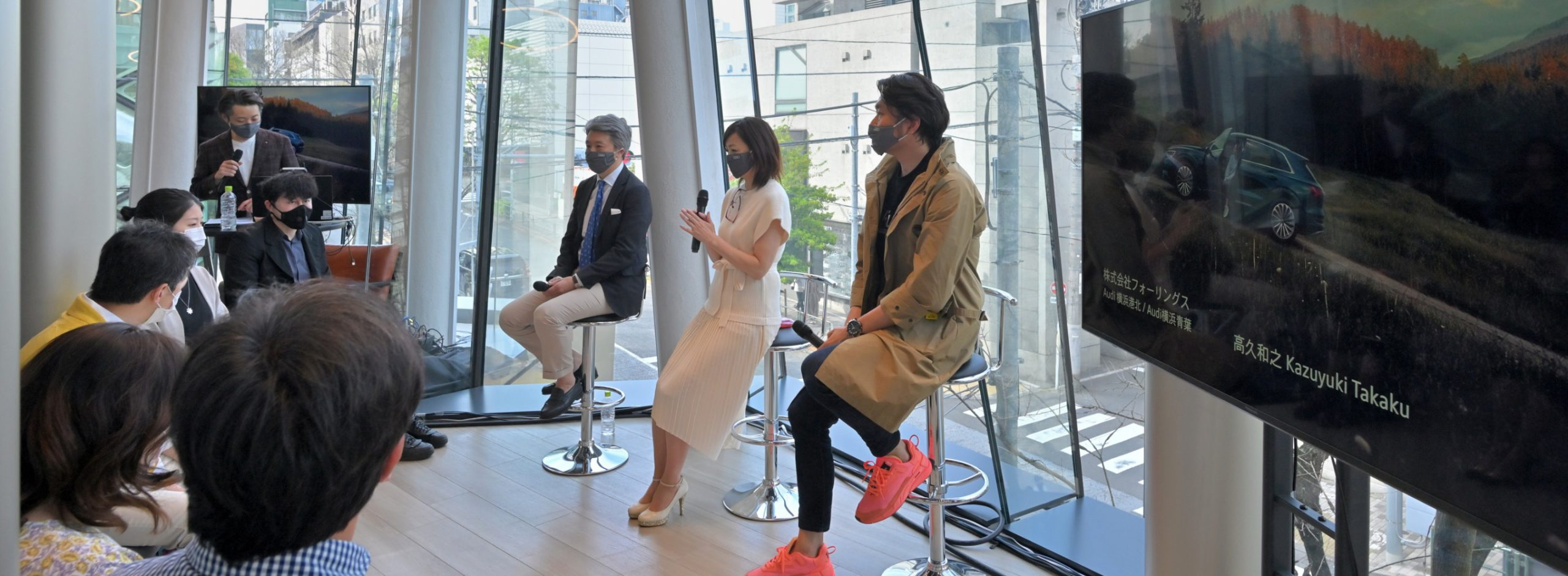 [Report] Audi × R100 TOKYO「Think Sustainability」イベント体験記